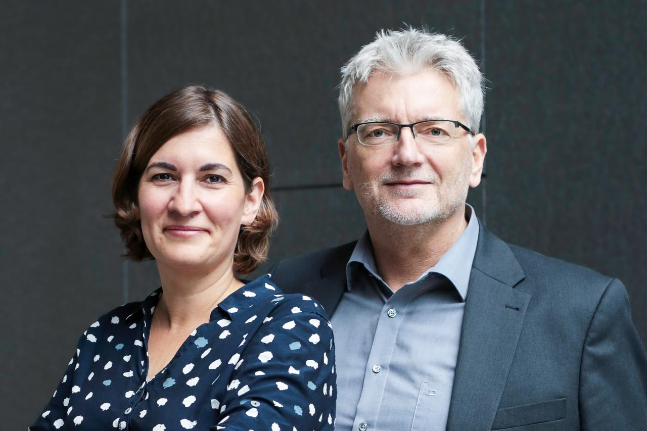 Evelyn Münster und Christoph Nieberding