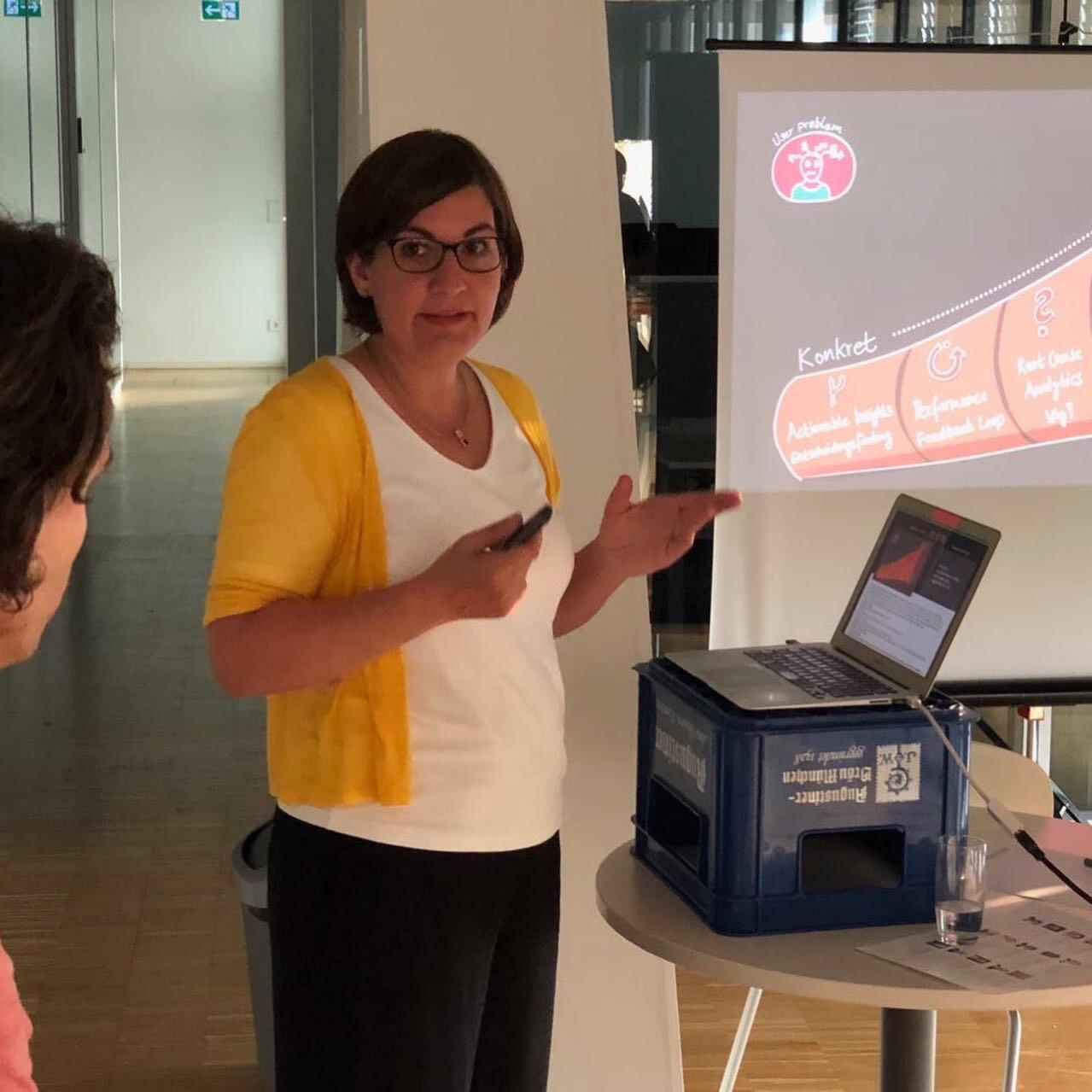 Evelyn Münster spricht über Datenprodukte